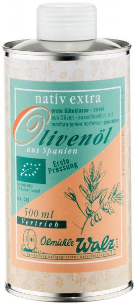 Olivenöl spanisch bio, nativ extra