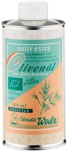 Olivenöl griechisch bio, nativ extra